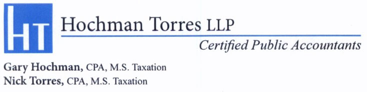 Hochman Torres Llp A Professional Tax And Accounting Firm In San